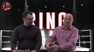 """""""RING TALK"""" EPISODE 15 - GOODWIN BOXING - 21st February 2018"""