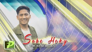 BERGEK TERBARU 2019 - SABE HOKY (official video music)