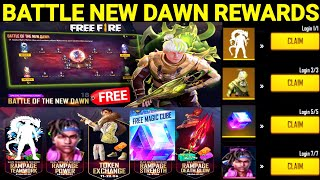 Battle of The New Dawn New Event   Free Fire Rampage 3.0 Battle of The New Dawn Event Full Details screenshot 5