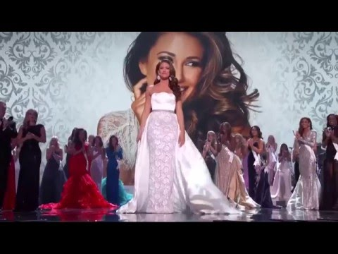 Miss USA 2015 Final Walk  Nia Sanchez