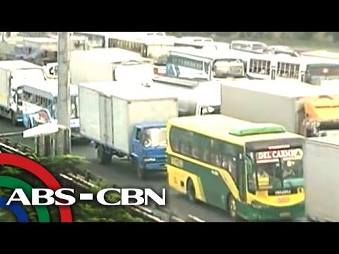 WATCH: Road situation on NLEX