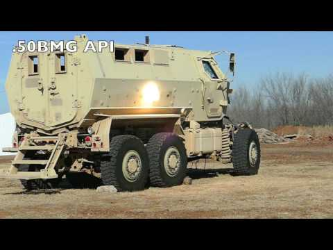 What projectile types will the MRAP withstand?