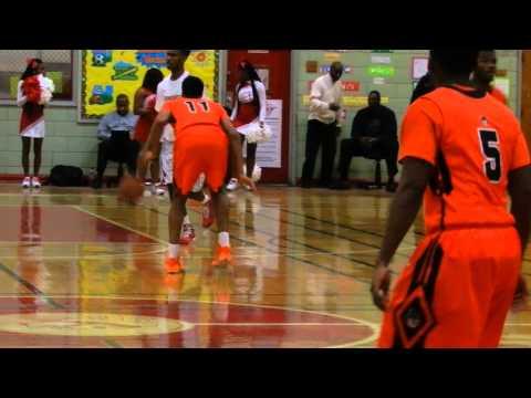 Coles dunk City/Edmondson boys basketball 1/20/15