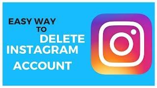 How to delete instagram account permanently 2018