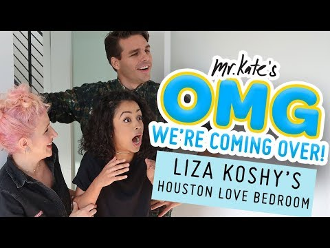 Liza Koshy's Houston Love Bedroom Makeover | OMG We're Comin