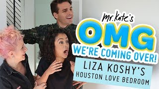 vermillionvocalists.com - Liza Koshy's Houston Love Bedroom Makeover | OMG We're Coming Over | Mr. Kate