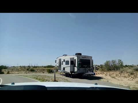 COCHITI LAKE NM...A DRIVE THRU THE CAMPGROUND...