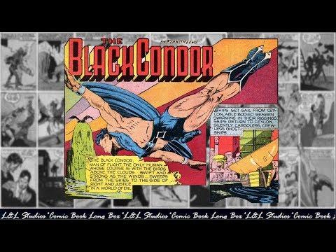 """The Black Condor: """"The Eagle Battalion"""", Crack Comics #05"""