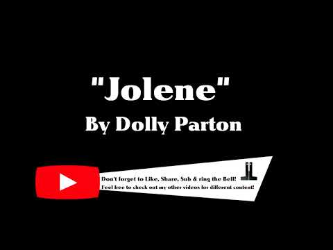[1 Hour Loop] Jolene - Dolly Parton