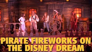 Pirate Night Fireworks Starring Jack Sparrow | Disney Cruise Line