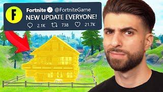 Fortnite's NEW UPDATE is WEIRD...