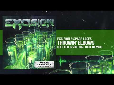 Excision & Space Laces - Throwin' Elbows (Getter & Virtual Riot Remix)
