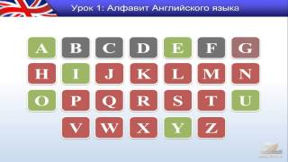 Урок 1  Алфавит английского языка
