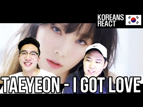 Free Download Taeyeon(태연) - I Got Love Reaction / Biggest Reaction From Danny Ever Mp3 dan Mp4