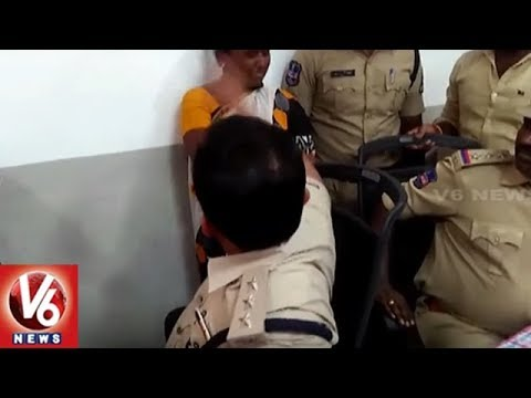 Disciplinary Action Against Begumpet ACP For Slapping Woman Offender | Hyderabad | V6 News