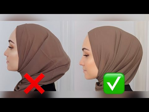 How to get the PERFECT hijab bun! - YouTube