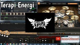 Saint Loco - Terapi Energi (Cover by Rasman Muhammad) Full Instrument/Karaoke + Lyrics