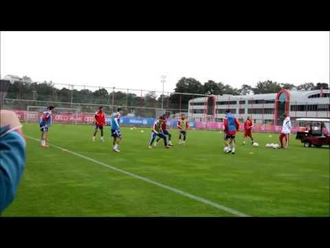 Treino Pep Guardiola - Bobinho - Bayern Munchen