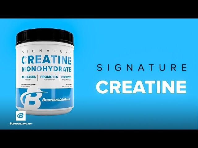 Signature Creatine | Bodybuilding.com [YouTube 動画] クリックで動画がスタンバイされ、もう1回クリックすると再生します