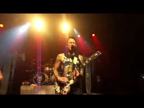 Rise Above The Tides by Trivium Live @ 2016 US Fall Tour Sunshine Theater Albq NM