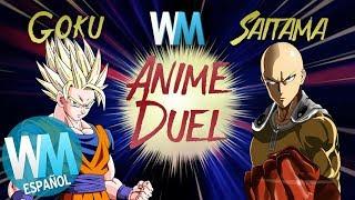 ¡DUELO de ANIME: Goku Vs Saitama!