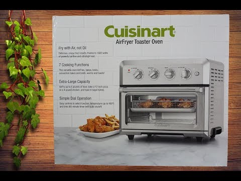 Cuisinart Air fryer Toaster Oven Review and Demo|Chicken tenders, Fries,Nuggets|Pizza|Bread Toast