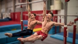 HEAD TO HEAD GYMNASTICS CHALLENGE WITH 30 YEAR OLD Mind Blowing