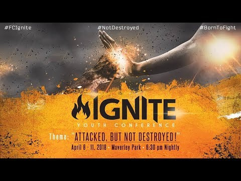 IGNITE: - 11 April, 2018 [Wednesday Night] - Sepaker: Min. Leonard Smith