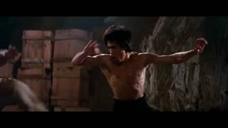 Выход дракона Брюс Ли 1973 (Джеки Чан там тоже есть)