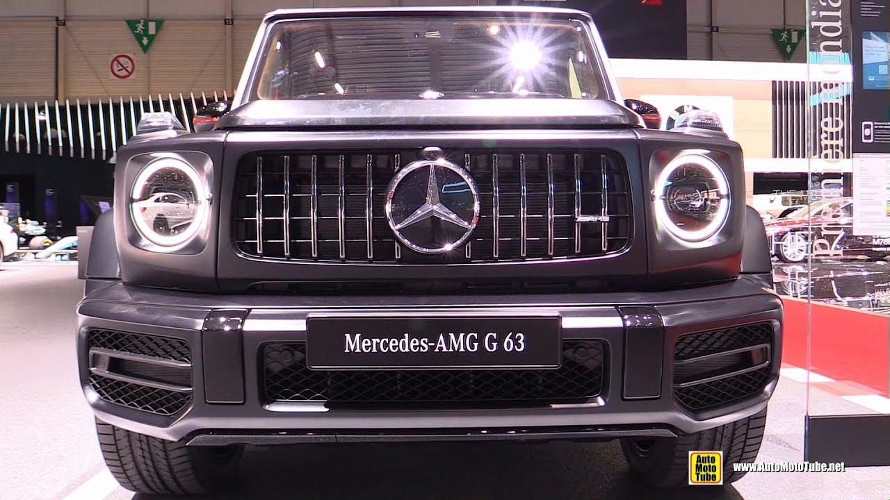 2019 Mercedes Amg G63 Exterior And Interior Walkaround Debut At