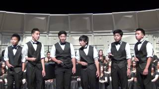 Public Display of Acapella - Spiritual Medley