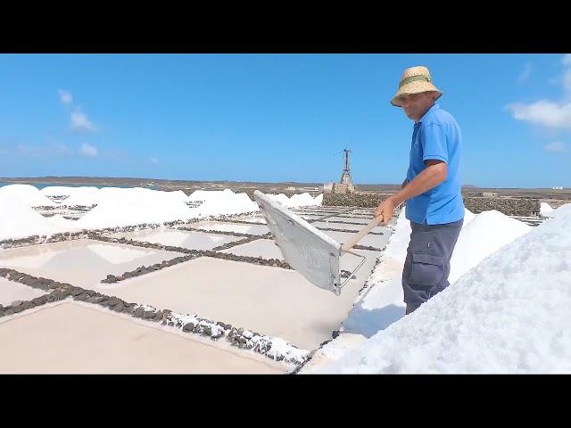 Las Salinas de Janubio, la obra arquitectónica más imponente de Lanzarote