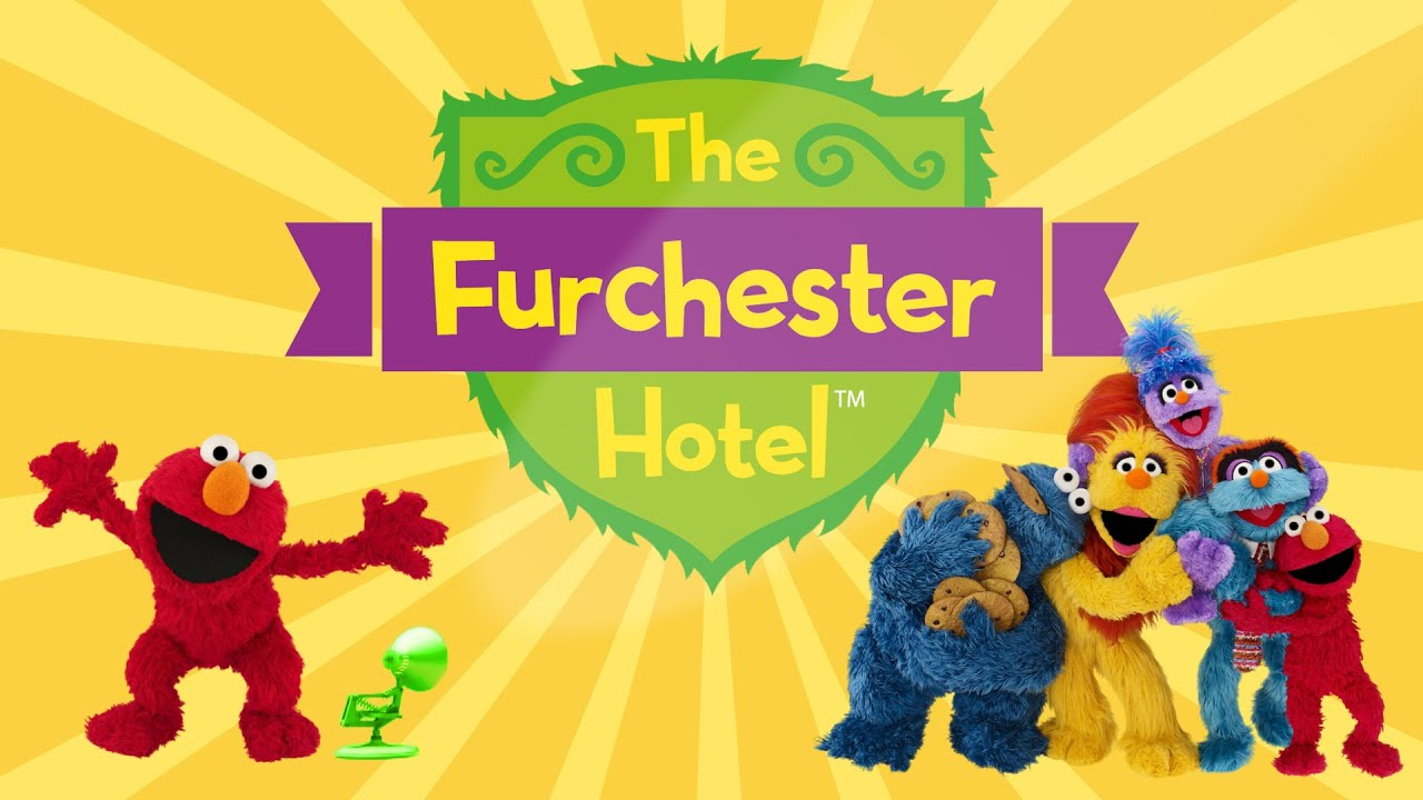 1826-The Furchester Hotel-Universal Kids Spoof Pixar Lamps Luxo Jr Logo