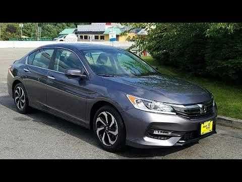 2016 Honda Accord EX CERTIFIED / MOONROOF / REVERSE CAMERA