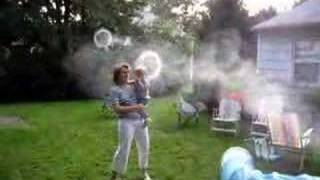 Giant Smoke Ring Generator