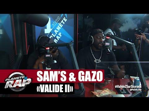 Youtube: Sam's feat. Bosh & Gazo«Validé II» #PlanèteRap