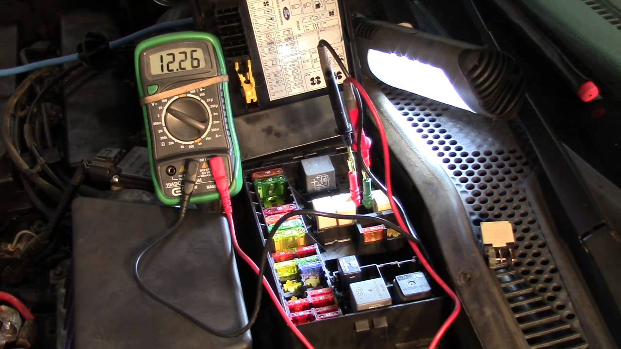 1994 Ford F250 Fuse Box Diagram Cranking No Start Real Time Diagnosis Ford Focus Youtube