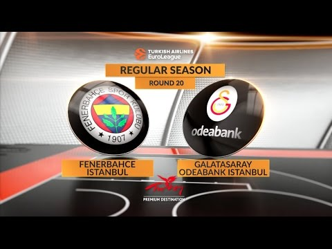 Highlights: Fenerbahce Istanbul-Galatasaray Odeabank Istanbul