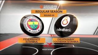 Highlights: Fenerbahce Istanbul-Galatasaray Odeabank Istanbul