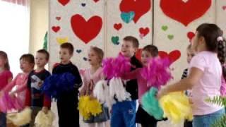 Występy dzieci z Przedszkola nr 4 w Skoczowie