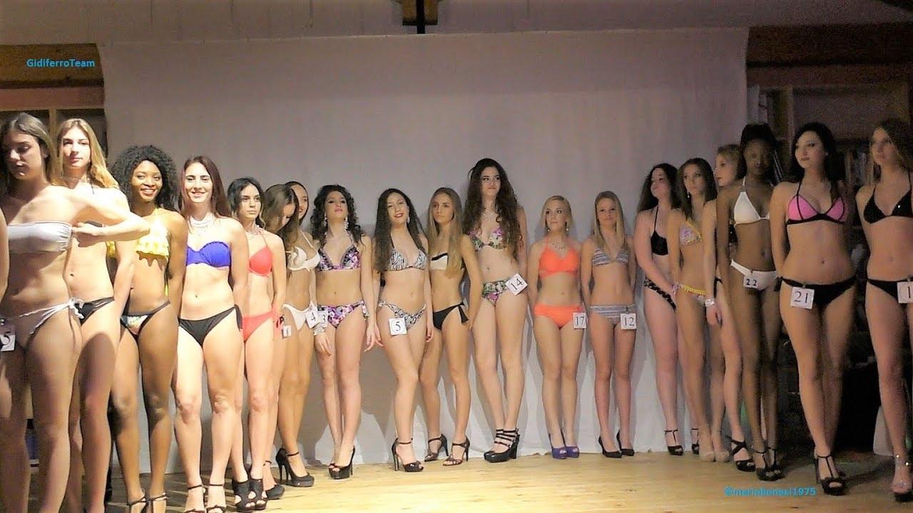 Fashion Lady Eventi Miss Aspiranti Fotomodelle Sfilata in Casual, e Abito