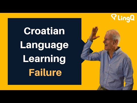 Croatian Language Learning Failure
