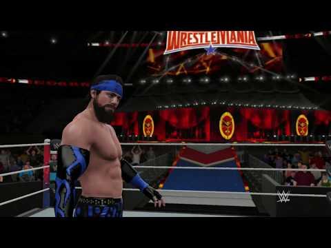 WWE 2k17 MyCAREER PL (#42)   WRESTLEMANIA, BROCK LESNAR, PAS WWE!