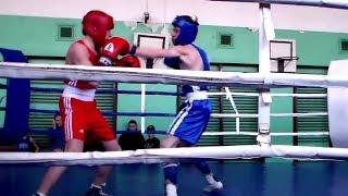 Бокс ФИНАЛ   Зайченко Илья (Сумы) - Заплюсвичка Денис (Лебедин) 07.04.2019