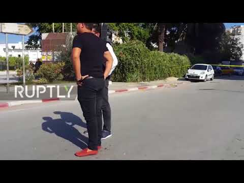Tunisia: Suspected Islamist stabs two police near Tunis parliament