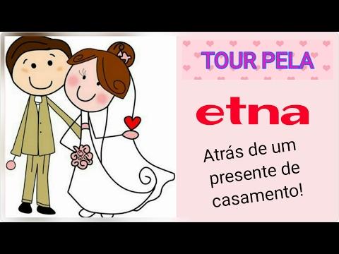 EM BUSCA DE UM PRESENTE DE CASAMENTO NA ETNA + TOUR PELA LOJA