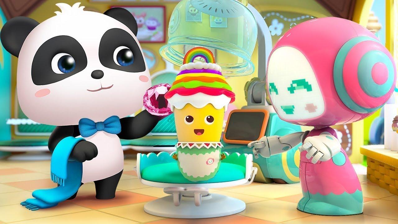 Tiệm làm đẹp bánh ga tô | Bài hát những chiếc bánh sắc màu | Nhạc thiếu nhi vui nhộn | BabyBus