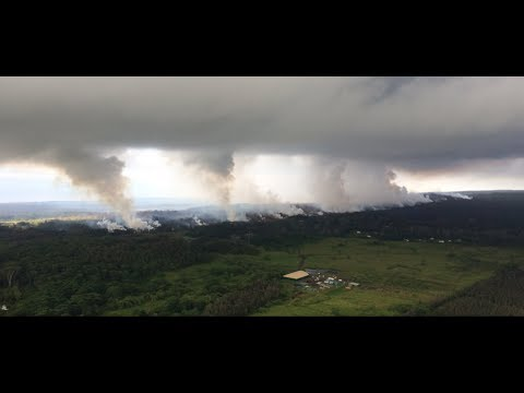 Kilauea Summit Eruption Webcams Live Earthquake Map Ultra Low