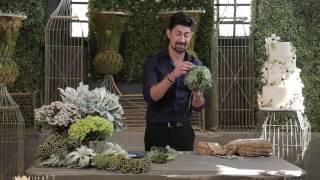 DIY Succulent Bridal Bouquet