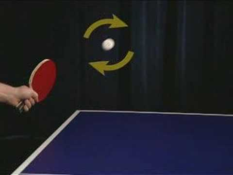 Killerspin Table Tennis Technique: Ball and Spin